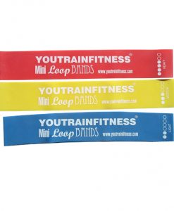 3 Fitness Mini Loop Resistance Bands