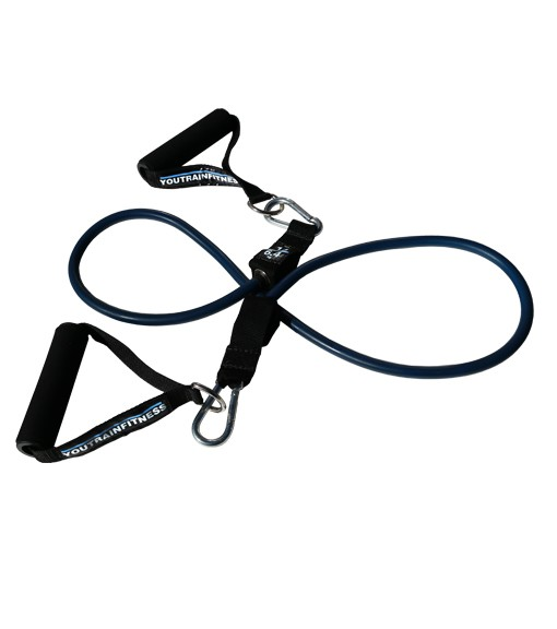 14lbs Blue Resistance Tube with Handles