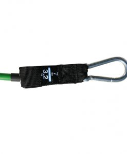 Green Resistance Band Clip