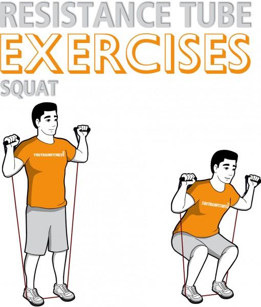 resistance-tube-squat