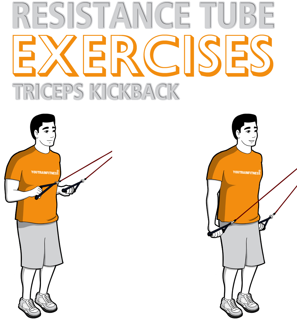 resistance-band-standing-triceps-kickback