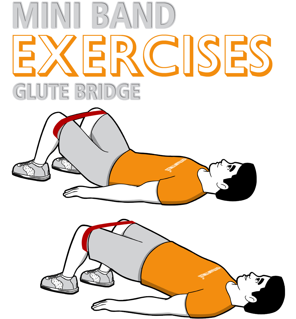 Mini Band Glute Bridge