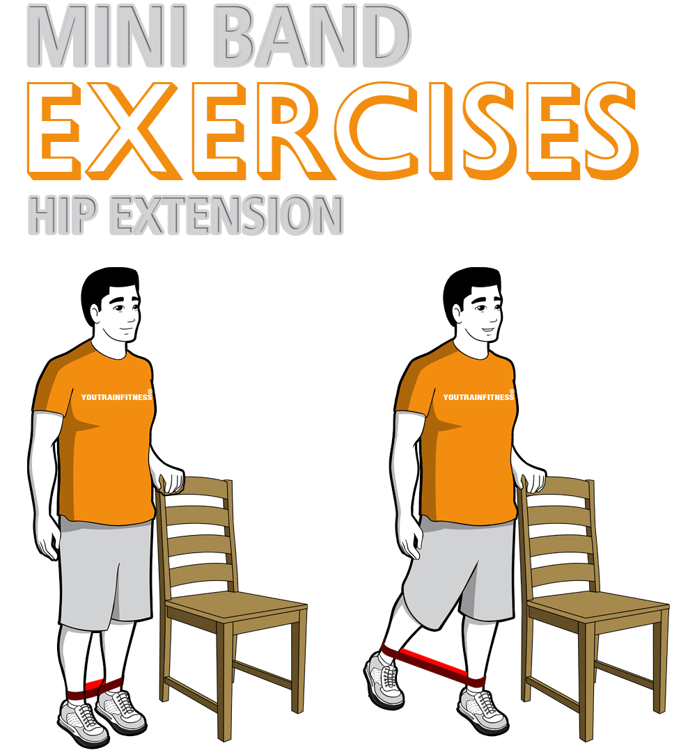 Mini Band Hip Extension