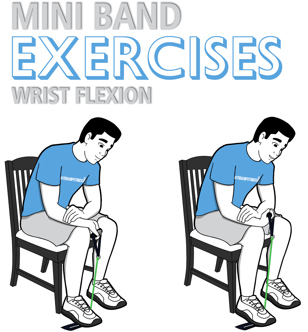 Mini Band Wrist Flexion