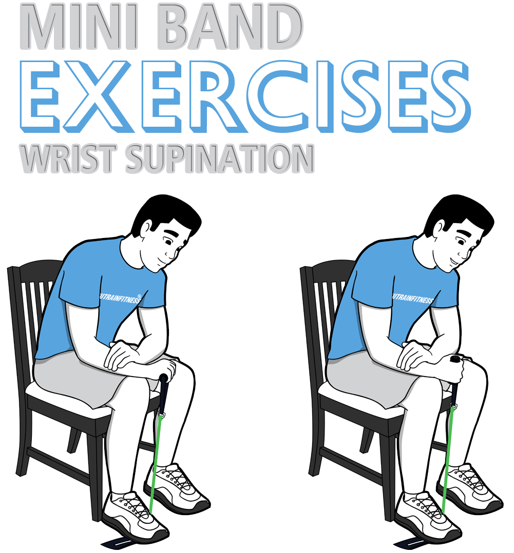 Mini Band Wrist Supination