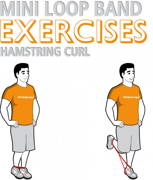 Mini Band Hamstring Curl