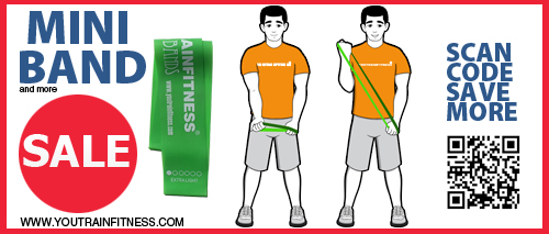 Mini Band Biceps Curl Exercise