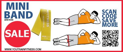 Mini Band Glutes (Hip) Exercise
