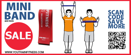 Mini Band Lat Pulldown