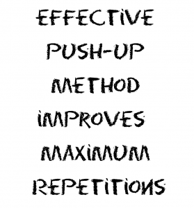 Effective Push-up Method Improves Maximum Repetitions